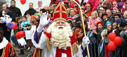 Welkom Sinterklaas in Nederland